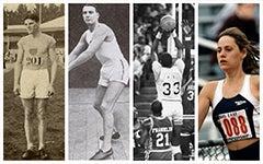 Collage of Hoya Olympians