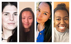 The Make48 team: Dana, Melissa, Sarah, and Seyi