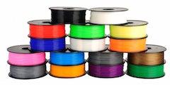 1.75mm PLA Filament, various colors