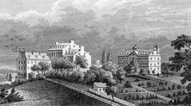Georgetown University circa 1850