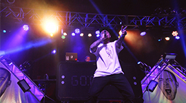 Mac Miller performing