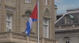 Cuban Embassy flag