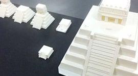 3D printed Aztec architecture