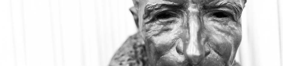Bust of Teilhard de Chardin, S.J.