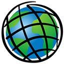 ArcGIS world logo