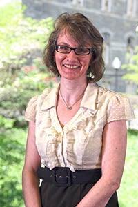 Photo of Lynn Conway, University Archivist