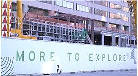 billboard image saying more to explore