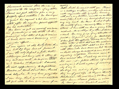Healy to Fenwick letter 1853