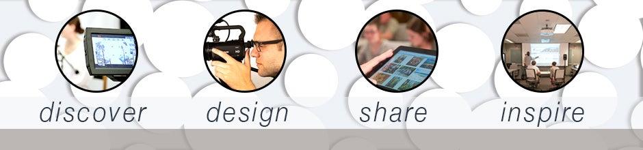 Discover. Design. Share. Inspire.