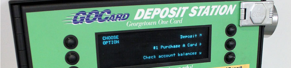 A GOCard deposit station