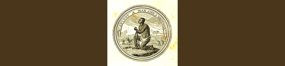 Antislavery movement medallion