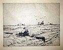 German Submarine Driven onto Goodwin Sands by HMS Gypsy & 3 Ramsgate Smacks