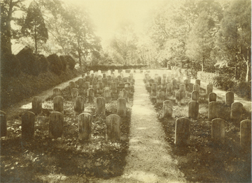 Jesuit Cemetery before 1889