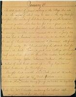 Diary of John McElroy, S.J., January 1, 1813