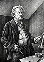 Thomas Hart Benton Self-Portrait
