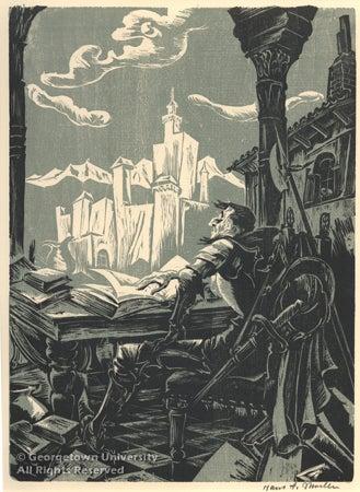 Tilting At Windmills Don Quixote At 400 Georgetown University Library