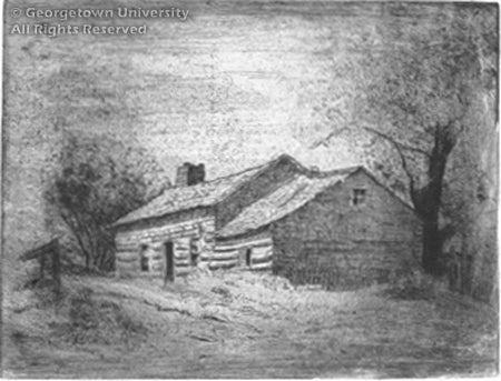Old Log House, Caledon Township Peel County