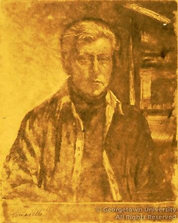 Luis Tomasello self portrait