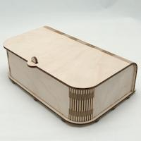 laser cut box.