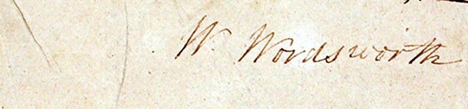 Wordsworth signature